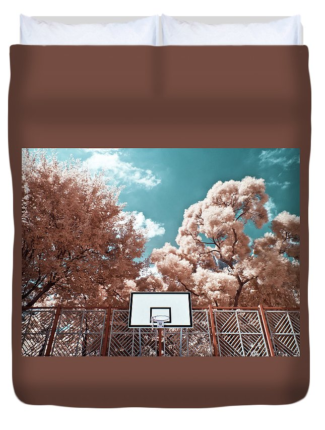 Tranquility Duvet Cover featuring the photograph Digital Infrared Photos by Terryprince