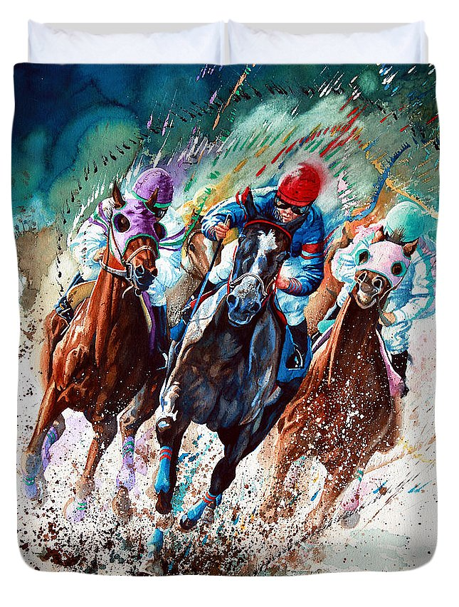 Horse Race Duvet Covers