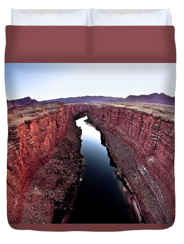 Scenics Duvet Cover featuring the photograph Grand Canyon, Arizona, Usa by Design Pics/richard Wear