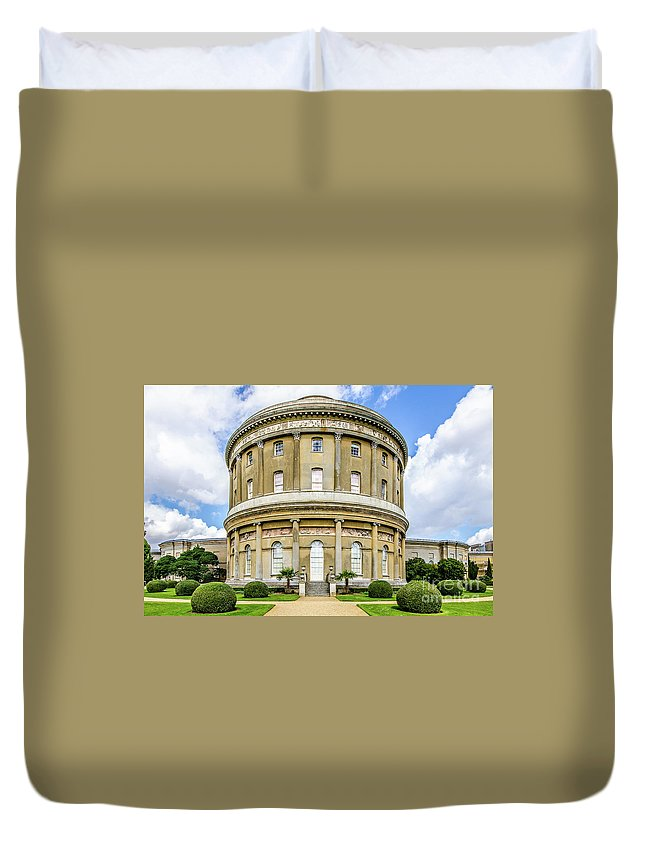 Young Girl Duvet Cover featuring the photograph Ickworth House, Image 9 by Jonny Essex