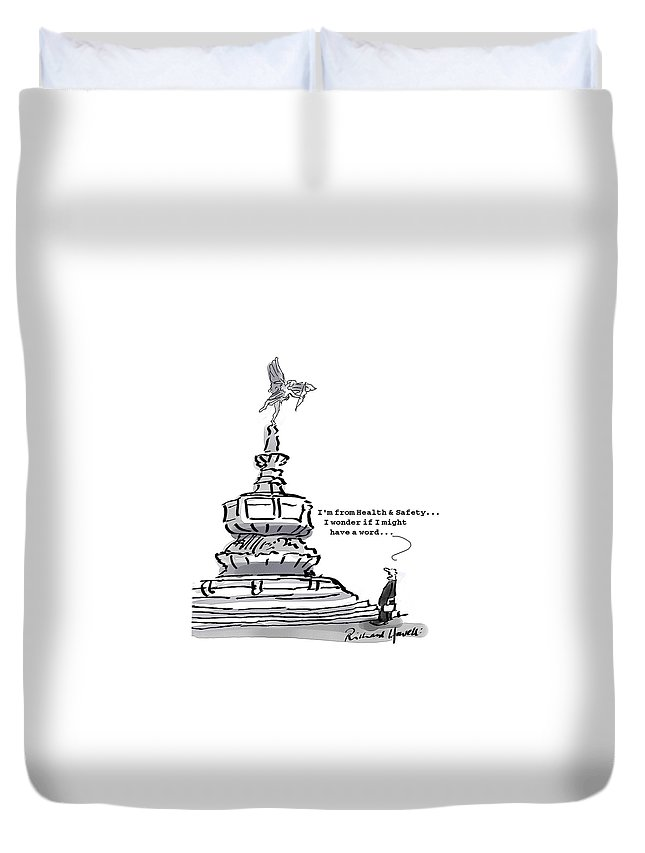 Picadilly Circus Duvet Covers