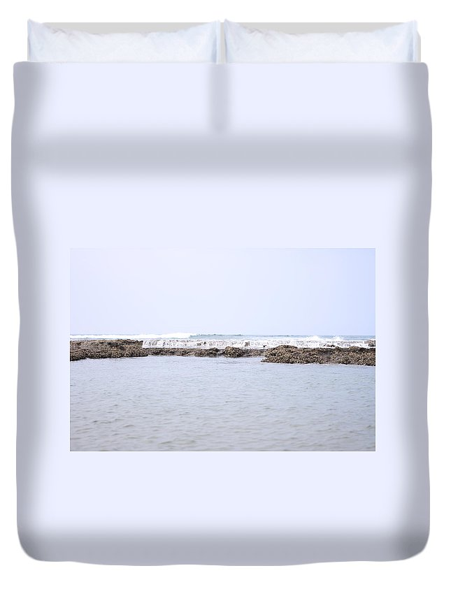 Scenics Duvet Cover featuring the photograph Indian Ocean Reef by Magnus Franklin