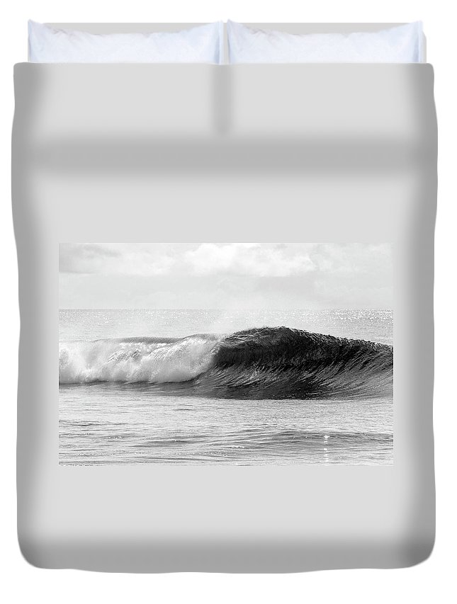 Curve Duvet Cover featuring the photograph Indonesia, North Maluku, Halmahera by Tropicalpixsingapore