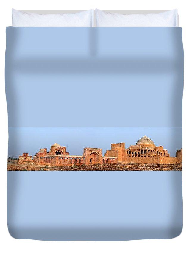 Tranquility Duvet Cover featuring the photograph Isa Khan Tombs Of Makli by Nadeem Khawar