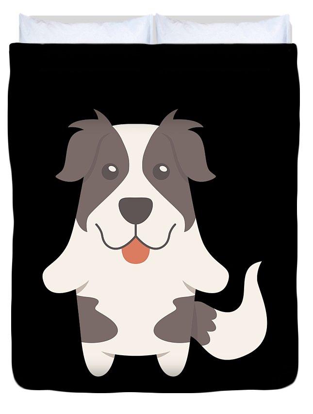 Best-dog-gift Duvet Cover featuring the digital art Karakachan Gift Idea by DogBoo