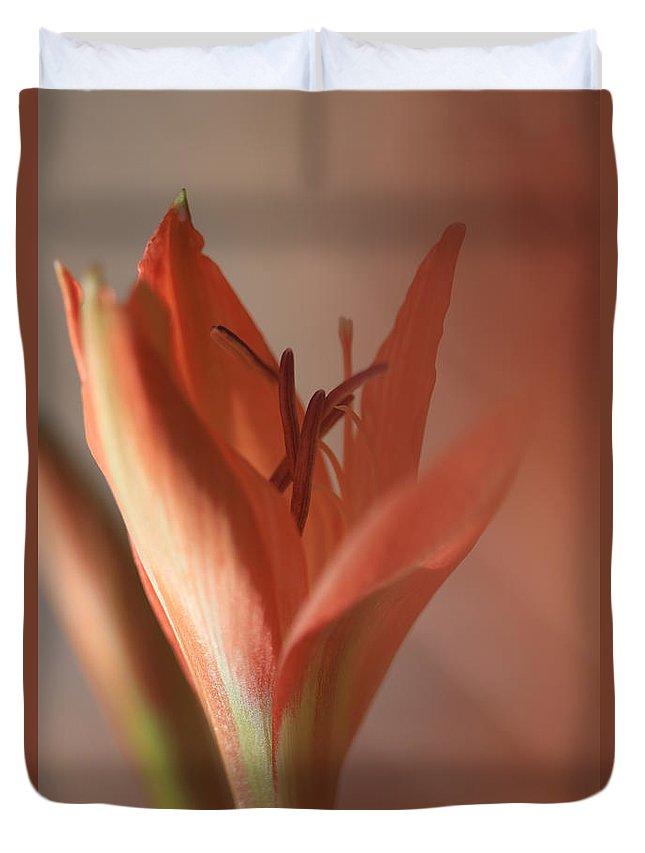 Flower Duvet Cover featuring the photograph Kindness Matters by Az Jackson