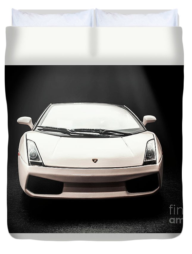 Gallardo Duvet Cover featuring the photograph Lit Luxury by Jorgo Photography - Wall Art Gallery