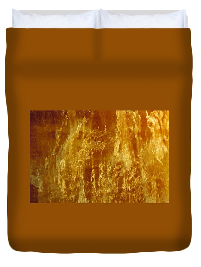 Mineral Duvet Cover featuring the photograph Marble by David Wasserman