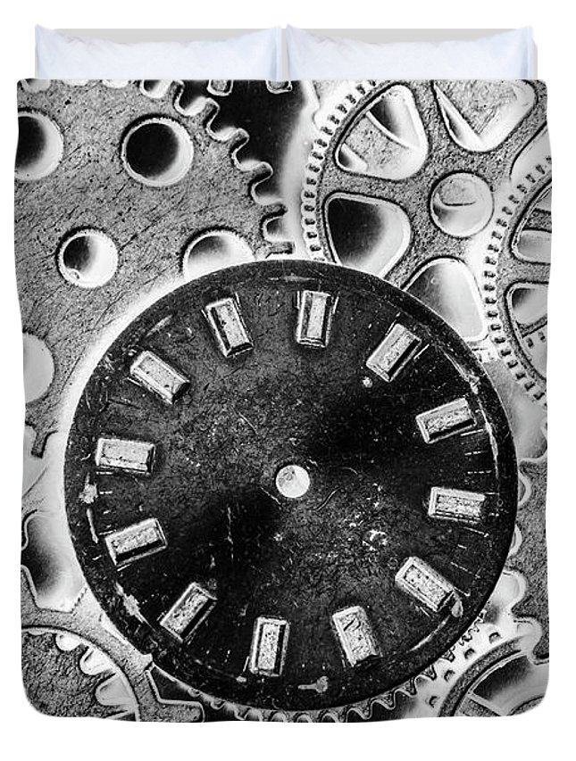 Mechanical Machines Duvet Cover