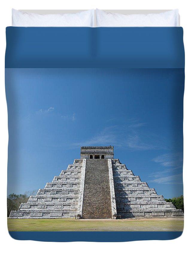 Latin America Duvet Cover featuring the photograph Mexico, Yucatan Peninsula, Yucatan by Adam Crowley