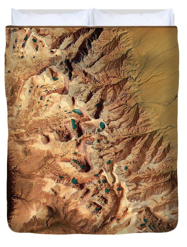 Sierra Nevada Mountains Duvet Covers