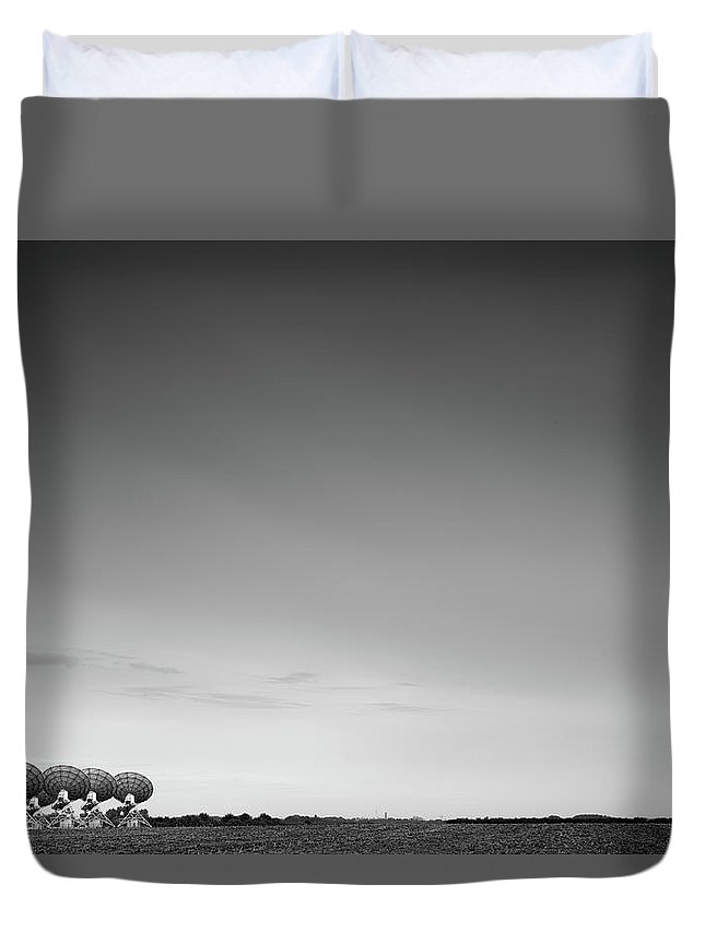 Five Objects Duvet Cover featuring the photograph Mullard, Cambridgeshire, Uk by Richard Fraser