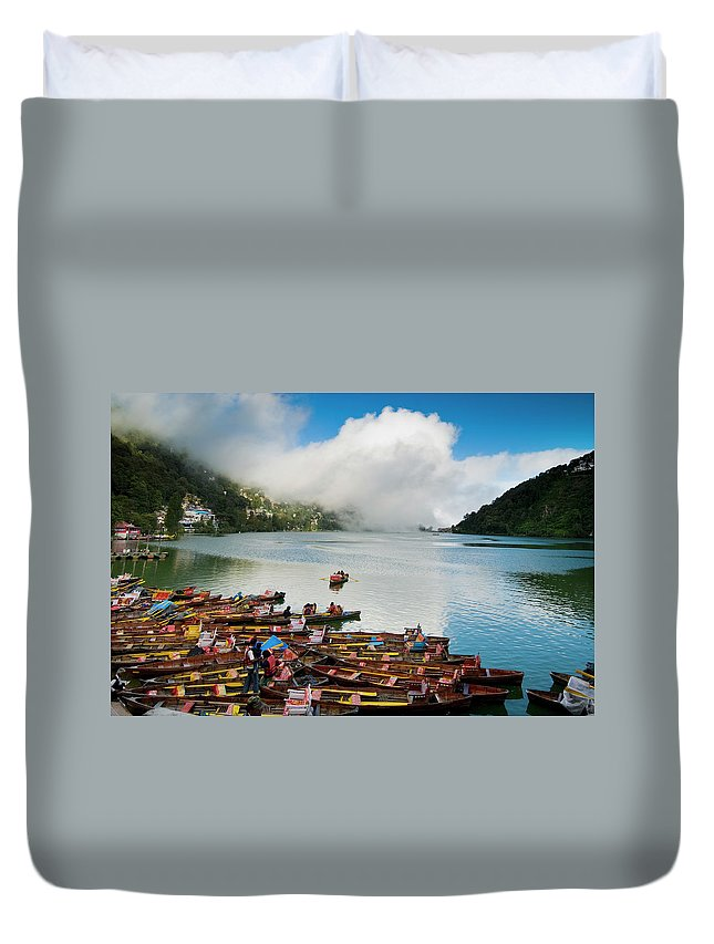 Outdoors Duvet Cover featuring the photograph Nainital, Uttrakhand, India by Jitendra Singh Is A New Delhi / Shimla Based Photojournalist