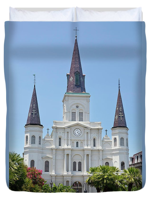 Southern Usa Duvet Cover featuring the photograph New Orleans by Cristianl