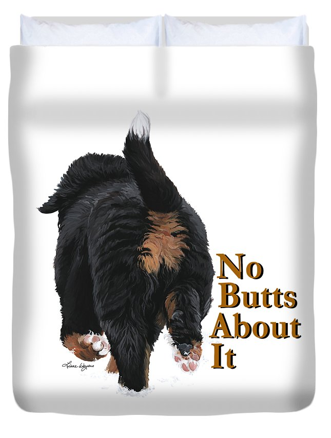 Recently Sold -  - Bernese Mountain Dog Duvet Covers