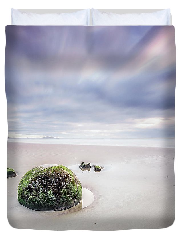 Kremsdorf Duvet Cover featuring the photograph Once Upon A Tide by Evelina Kremsdorf