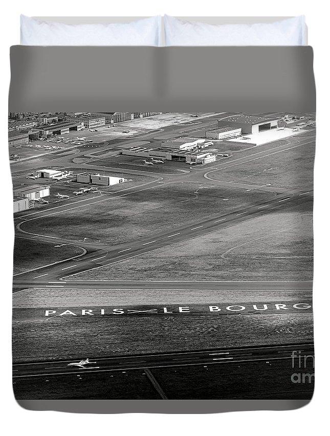 Bourget Duvet Cover featuring the photograph Paris Le Bourget by Olivier Le Queinec