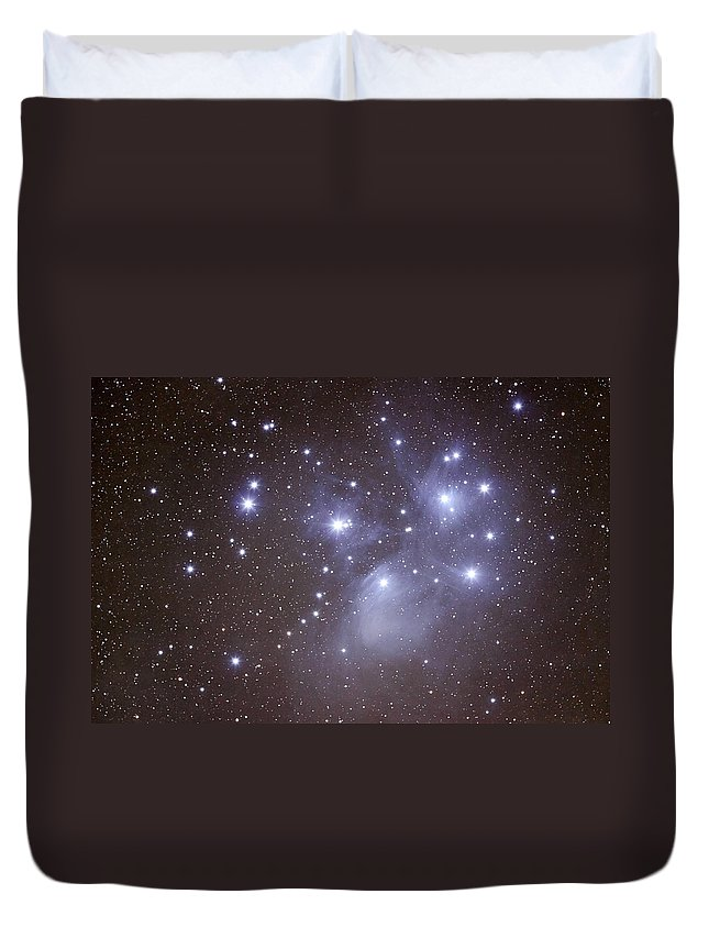 Majestic Duvet Cover featuring the photograph Pleides by Pat Gaines