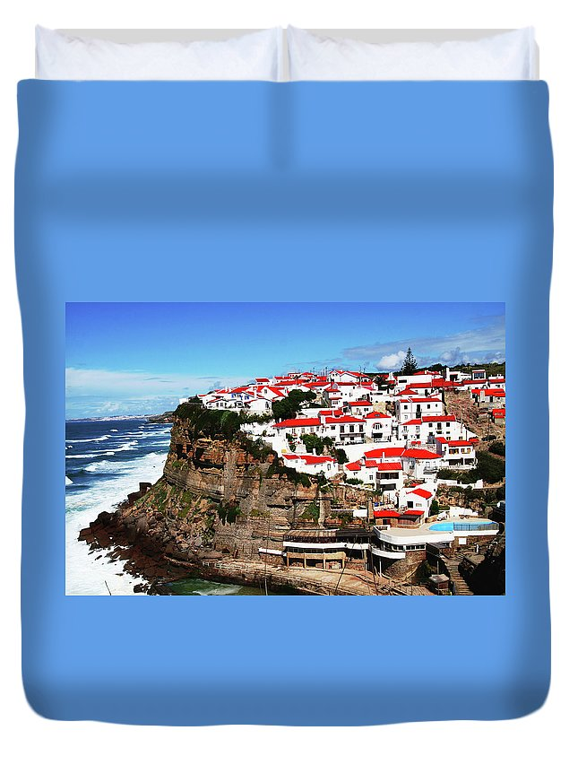 Tranquility Duvet Cover featuring the photograph Portugal by Arthit Somsakul