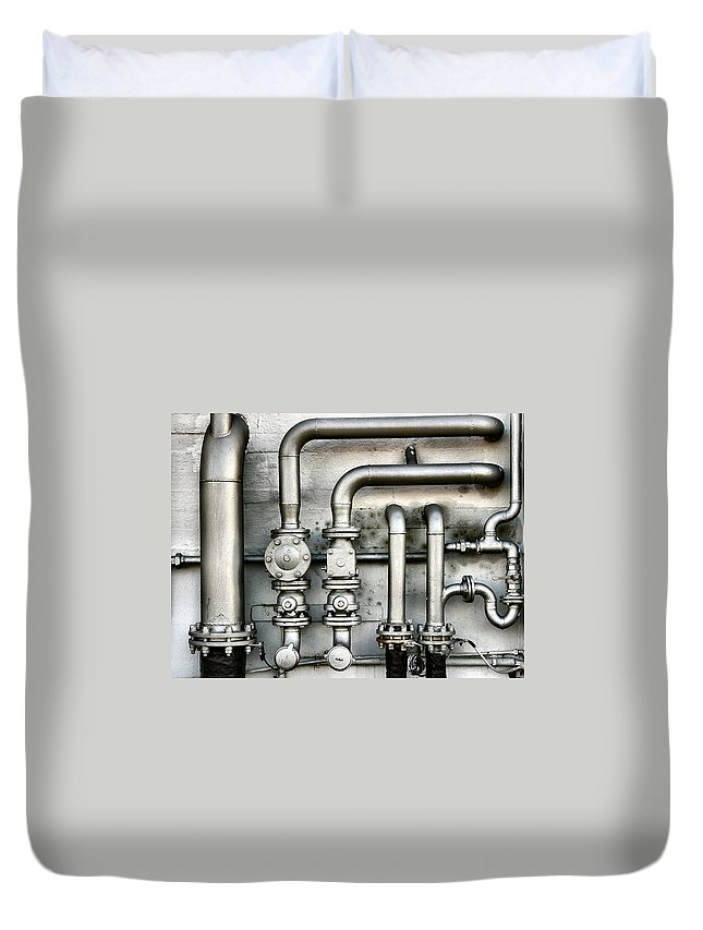 Mineral Duvet Cover featuring the photograph Power Inside by Exkalibur