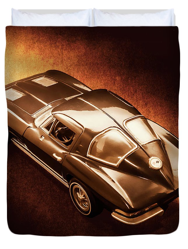 Chevrolet Duvet Cover featuring the photograph Ray Tail by Jorgo Photography - Wall Art Gallery