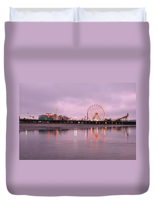 Southern California Duvet Cover featuring the photograph San Diego County Fair by Paule858