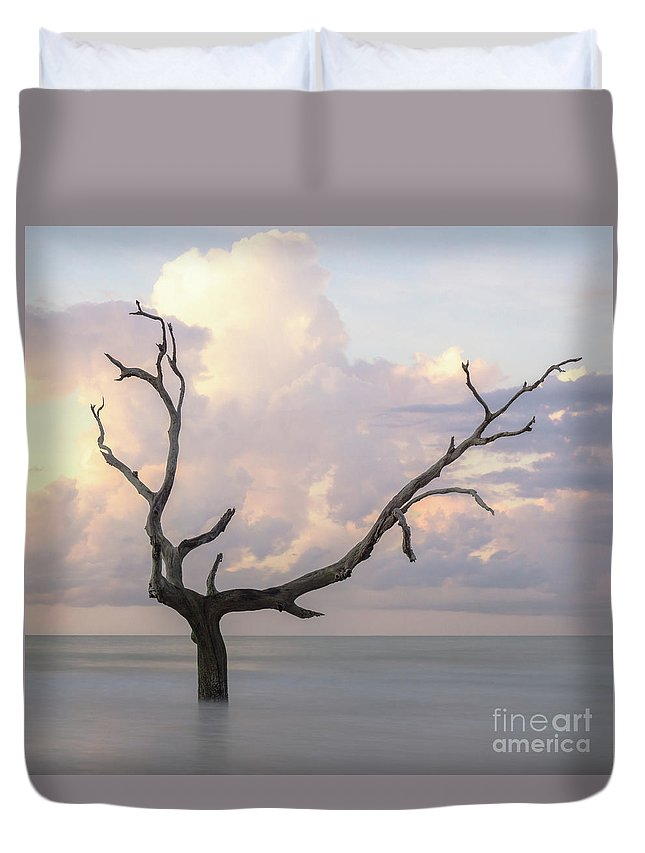 Bull Island Duvet Cover featuring the photograph Shanghaied by DiFigiano Photography