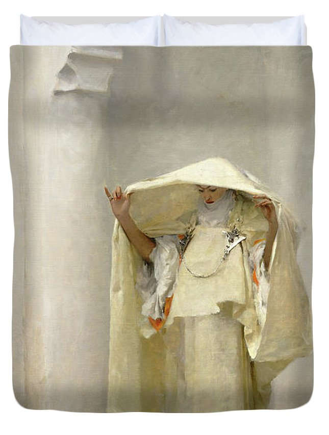 John Singer Sargent Duvet Cover featuring the painting Smoke of Ambergris by John Singer Sargent