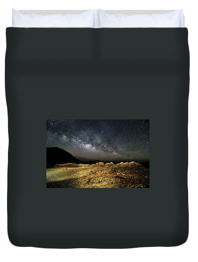 Scenics Duvet Cover featuring the photograph Space by Copyright Of Eason Lin Ladaga