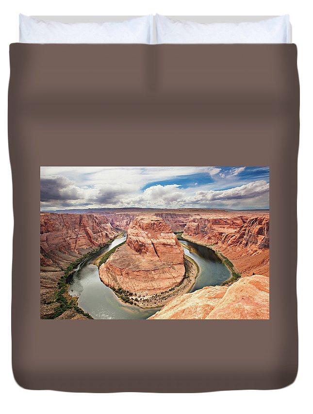 Scenics Duvet Cover featuring the photograph Splendid Arizona by Xavierarnau