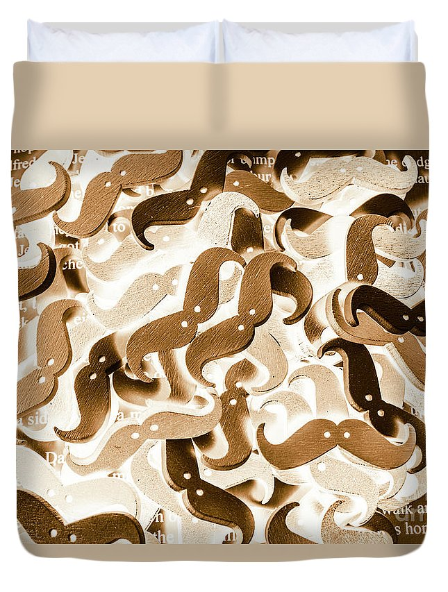 Moe Duvet Cover featuring the photograph Stiff Upper Lip by Jorgo Photography - Wall Art Gallery