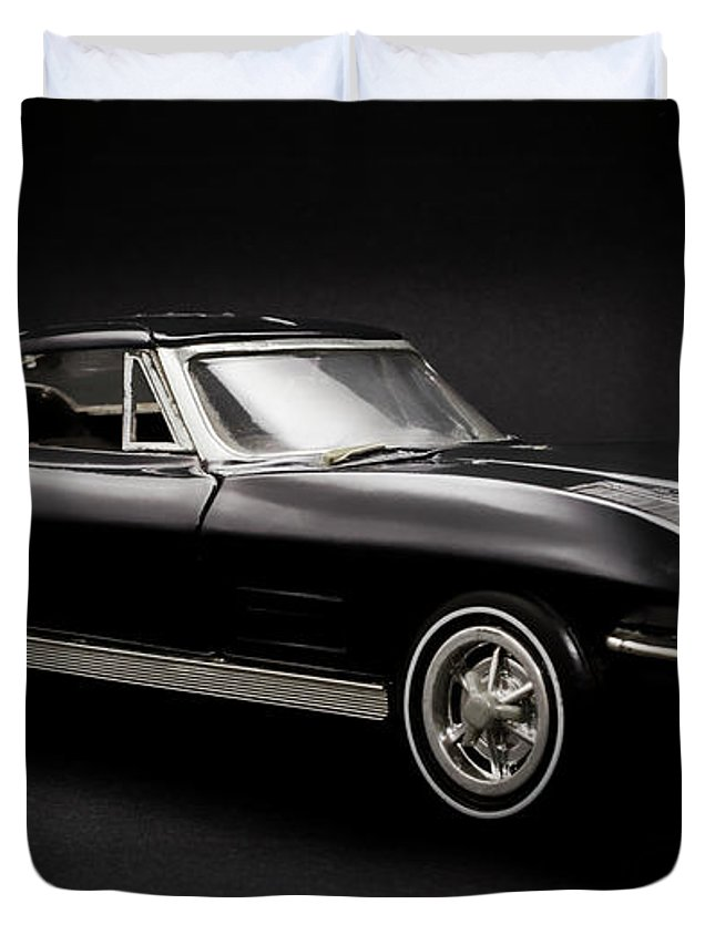 Car Duvet Cover featuring the photograph Stingray Style by Jorgo Photography - Wall Art Gallery