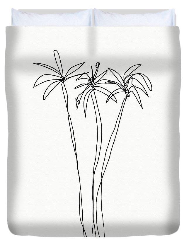 Interior Design Drawings Duvet Covers