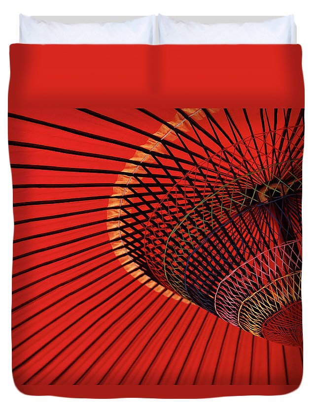 Kyoto Prefecture Duvet Cover featuring the photograph Traditional Tone by Sunnywinds