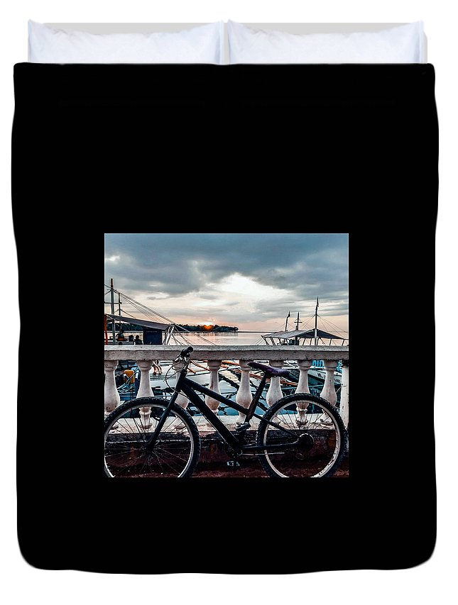 Bicycle Photographs Duvet Covers