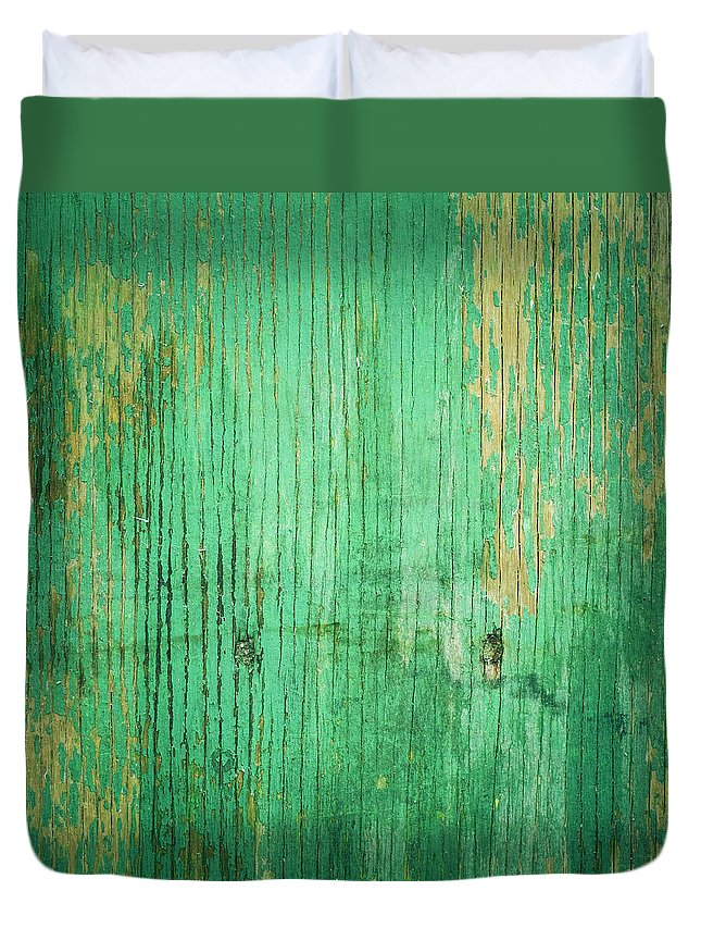Unhygienic Duvet Cover featuring the photograph Wooden Texture by Thepalmer