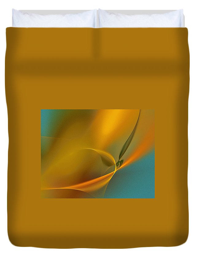 Orange Color Duvet Cover featuring the photograph Yellow Lights by I Dedicate This Creation To You All Dream Makers... Realeoni
