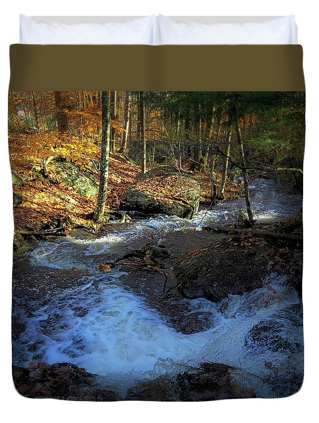 Fall Duvet Cover featuring the photograph Your Morning Blessing by Jerry LoFaro