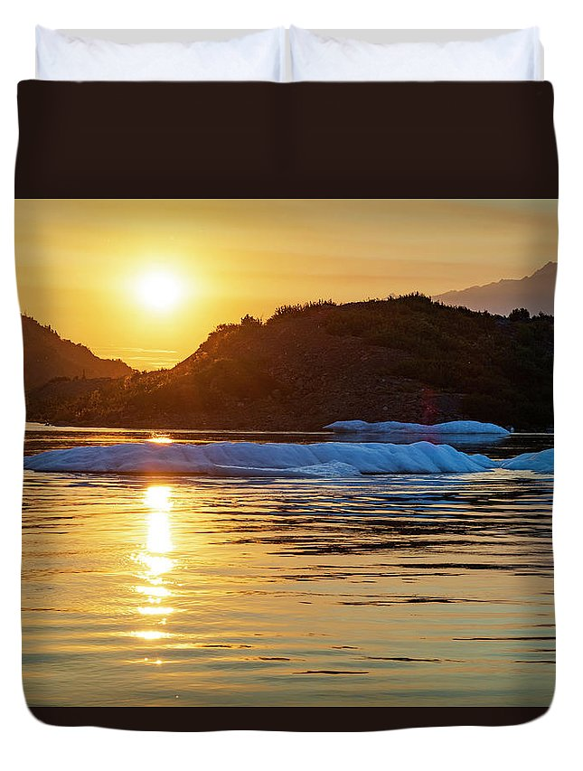 11 Duvet Cover featuring the photograph 11 O'clock by Chad Dutson