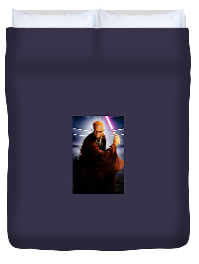 Star Wars - Episode Iii - Revenge Of The Sith 2005 Duvet Cover featuring the digital art Star Wars - Episode IIi - Revenge Of The Sith 2005 by Geek N Rock