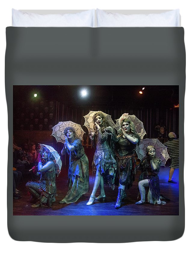 Adams Family Duvet Cover featuring the photograph Adams Family the Ancestors by Alan D Smith