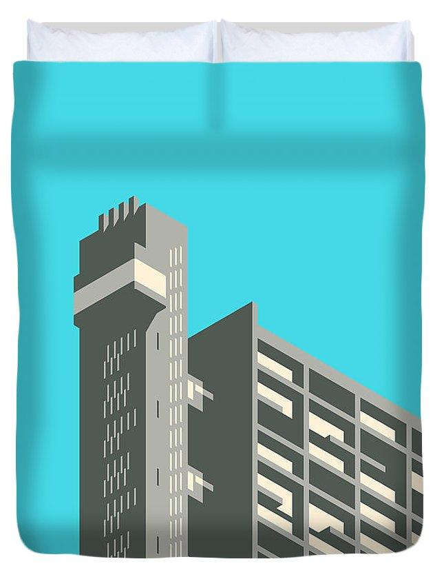 Brutalist Architecture Duvet Covers
