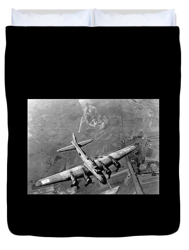 Flying Fortress Duvet Covers