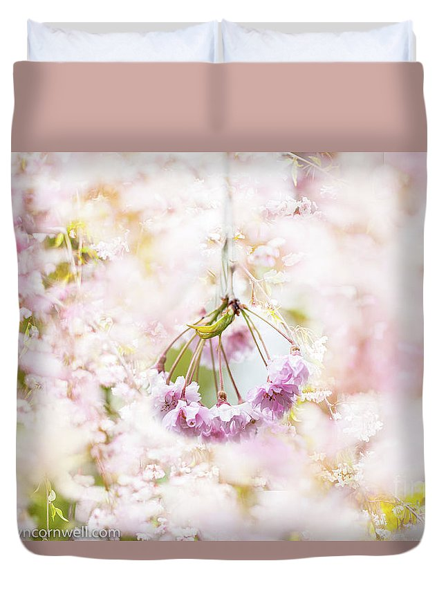 Blossoms Duvet Cover featuring the photograph Dreamland by Marilyn Cornwell