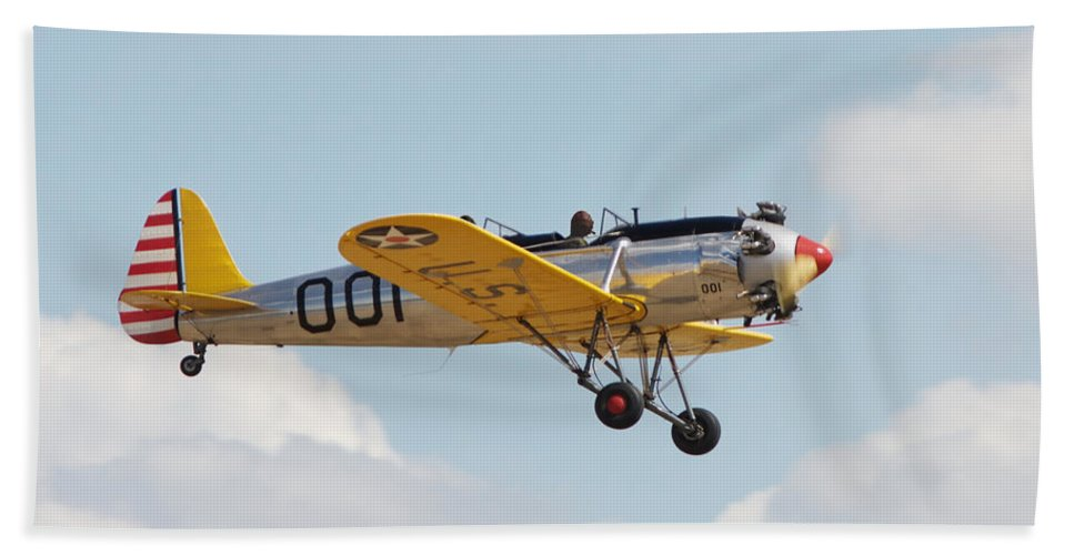 Aircraft Bath Sheet featuring the photograph Come Fly With Me by Pat Speirs