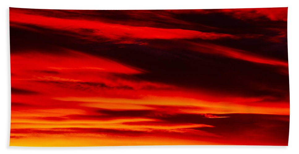 Arches National Park Bath Sheet featuring the photograph Fiery Furnace Sunset by Tracy Knauer