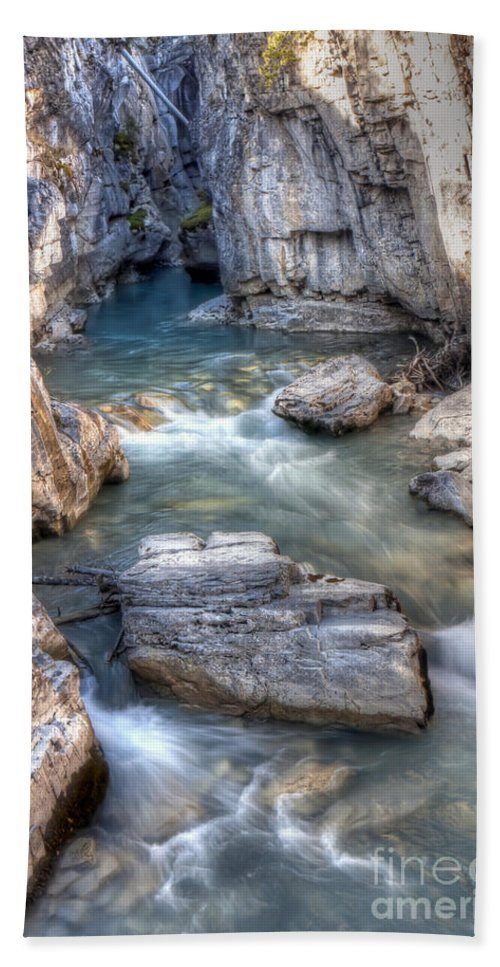 Marble Bath Sheet featuring the photograph 0144 Marble Canyon 2 by Steve Sturgill