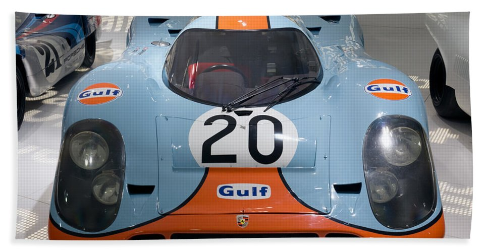 3d Hand Towel featuring the photograph 1970 Porsche 917 Kh Coupe by Paul Fearn