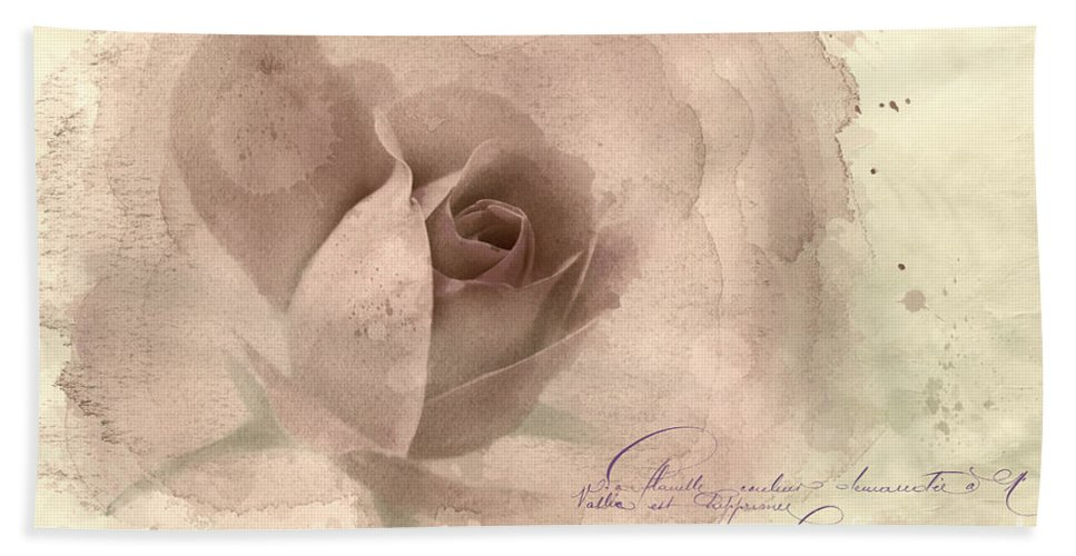 Rose Hand Towel featuring the photograph A Rose By Any Other Name by Betty LaRue
