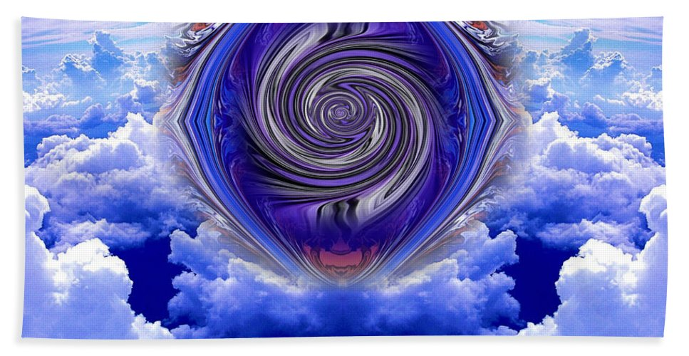 Original Hand Towel featuring the photograph Abstract 143 by J D Owen